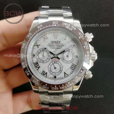 This image has an empty alt attribute; its file name is replica-rolex-daytona-meteorite-watch-brown-ceramic-bezel.jpg